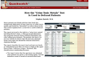 http://www.quackwatch.org/01QuackeryRelatedTopics/Tests/urine_toxic.html