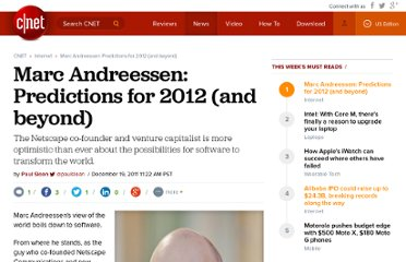 http://news.cnet.com/8301-1023_3-57345138-93/marc-andreessen-predictions-for-2012-and-beyond/