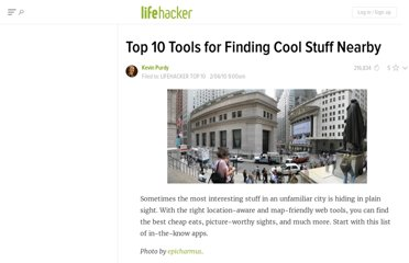 http://lifehacker.com/5465334/top-10-tools-for-finding-cool-stuff-nearby
