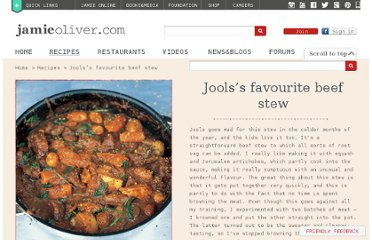 http://www.jamieoliver.com/recipes/beef-recipes/jools-s-favourite-beef-stew