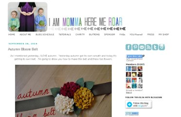 http://www.iammommahearmeroar.net/2010/09/autumn-bloom-belt.html