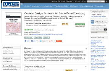 http://www.igi-global.com/article/content-design-patterns-game-based/56315