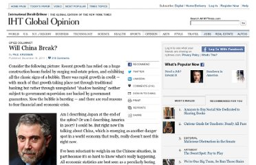 http://www.nytimes.com/2011/12/19/opinion/krugman-will-china-break.html?_r=1&ref=opinion
