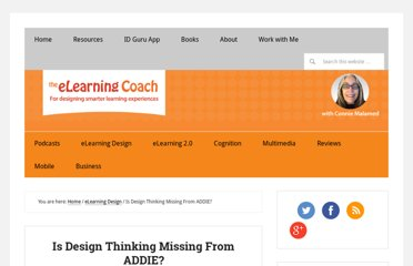 http://theelearningcoach.com/elearning_design/design-thinking-for-instructional-desig/