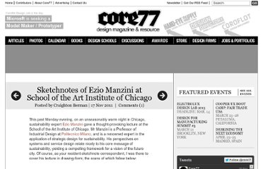 http://www.core77.com/blog/sketchnotes/sketchnotes_of_ezio_manzini_at_school_of_the_art_institute_of_chicago_21109.asp