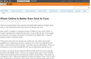 http://www.cmswire.com/cms/web-content/when-online-is-better-than-face-to-face-005406.php