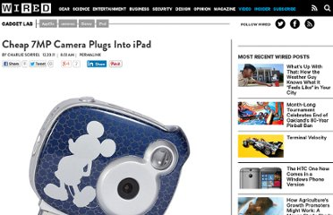 http://www.wired.com/gadgetlab/2011/12/cheap-7mp-camera-plugs-into-ipad/