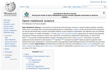 http://en.wikipedia.org/wiki/Open_notebook_science