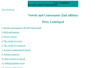 http://www.phonetics.ucla.edu/vowels/contents.html