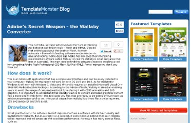 http://blog.templatemonster.com/2011/03/21/wallaby-flash-html5-converter/