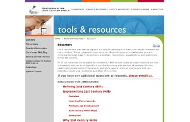 http://www.p21.org/tools-and-resources/educators