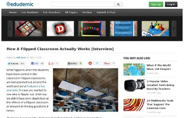 http://edudemic.com/2011/12/real-flipped-classroom/