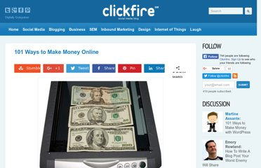 http://www.clickfire.com/101-ways-to-make-money-online/