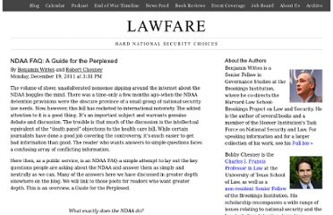 http://www.lawfareblog.com/2011/12/ndaa-faq-a-guide-for-the-perplexed/