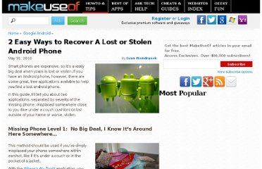 http://www.makeuseof.com/tag/2-easy-ways-recover-lost-stolen-android-phone/#more-44066