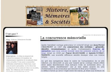 http://histoiredememoire.over-blog.com/article-la-concurrence-memorielle-93183059.html