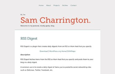http://sam.charrington.com/projects/rss-digest