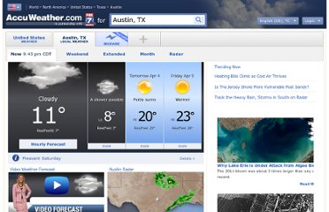 http://www.accuweather.com/en/us/austin-tx/78701/weather-forecast/351193