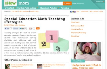 http://www.ehow.com/info_8003956_special-education-math-teaching-strategies.html