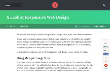 http://www.developerdrive.com/2011/12/a-look-at-responsive-web-design/
