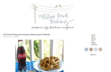 http://willowbirdbaking.com/2011/03/08/soft-pretzel-dogs-an-homage-to-auntie-annies-pretzels/