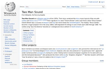 http://en.wikipedia.org/wiki/Two_Man_Sound