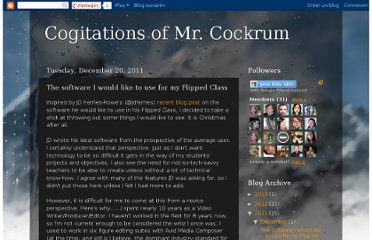 http://cogitationsofmrcockrum.blogspot.com/2011/12/software-i-would-like-to-use-for-my.html