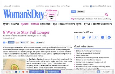 http://www.womansday.com/health-fitness/diet-weight-loss/8-ways-to-stay-full-longer-113021