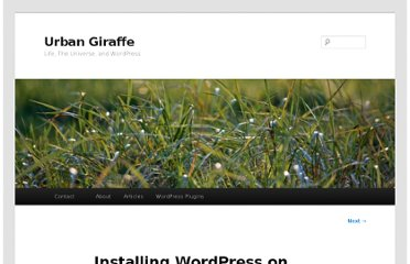 http://urbangiraffe.com/articles/installing-wordpress-on-your-own-windows-computer/