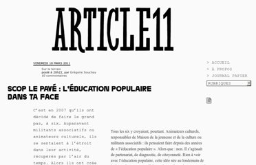 http://www.article11.info/?Scop-Le-Pave-l-education-populaire