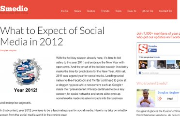 http://smedio.com/2011/12/20/what-to-expect-of-social-media-in-2012/