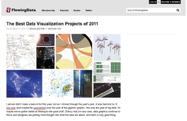 http://flowingdata.com/2011/12/21/the-best-data-visualization-projects-of-2011/