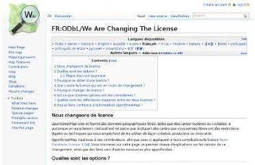 http://wiki.openstreetmap.org/wiki/FR:ODbL/We_Are_Changing_The_License