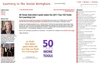 http://www.c4lpt.co.uk/blog/2011/12/21/50-tools-that-didnt-quite-make-the-2011-top-100-tools-for-learning-list/