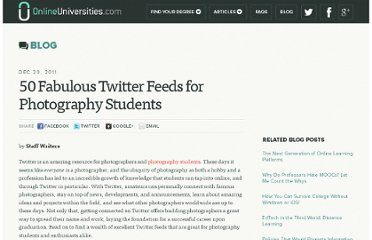 http://www.onlineuniversities.com/50-fabulous-twitter-feeds-for-photography-students