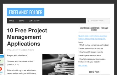 http://freelancefolder.com/10-free-project-management-applications/