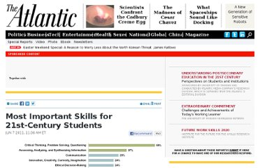http://www.theatlantic.com/21stCenturyEducation/archive/2011/06/most-important-skills-for-21st-century-students/239900/#.TvIMSL57BYG.twitter
