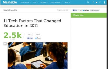 http://mashable.com/2011/12/21/education-2011/