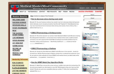 http://medical-mastermind-community.com/category/podcast
