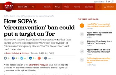 http://news.cnet.com/8301-31921_3-57346592-281/how-sopas-circumvention-ban-could-put-a-target-on-tor/
