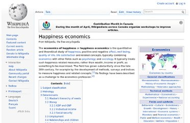 http://en.wikipedia.org/wiki/Happiness_economics