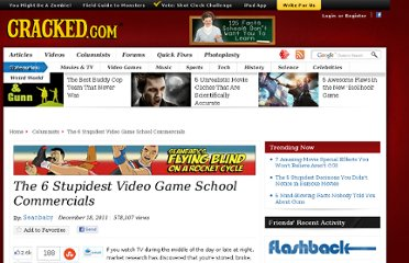 http://www.cracked.com/blog/the-6-stupidest-video-game-school-commercials/