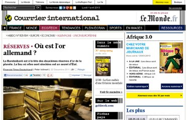 http://www.courrierinternational.com/article/2011/12/22/ou-est-l-or-allemand