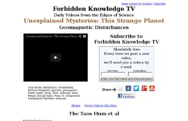http://www.forbiddenknowledgetv.com/videos/ufosinterdimensionalultraterrestrials/unexplained-mysteries-this-strange-planet.html