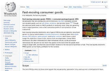 http://en.wikipedia.org/wiki/Fast-moving_consumer_goods
