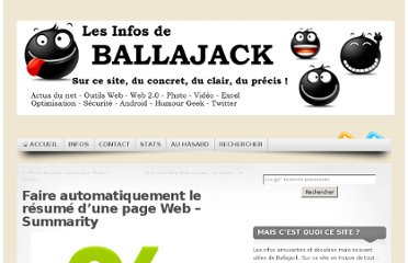 http://www.ballajack.com/faire-automatiquement-resume-page-web-summarity