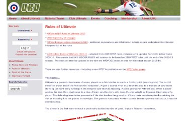 http://www.ukultimate.com/about_ultimate/rules_of_ultimate