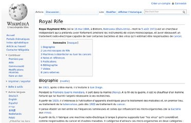 http://fr.wikipedia.org/wiki/Royal_Rife