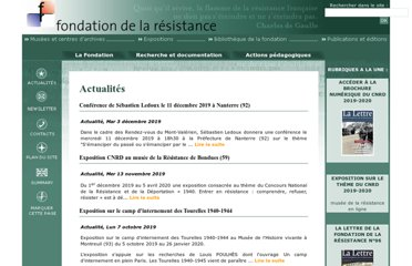 http://www.fondationresistance.org/pages/accueil/