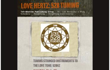 http://web.mac.com/len15/Newsletter_&_Blog/Tetrahedron_Publishing_Group/Entries/2007/5/21_TUNING_STRINGED_INSTRUMENTS_TO_THE_LOVE_TONE%3A_528HZ.html